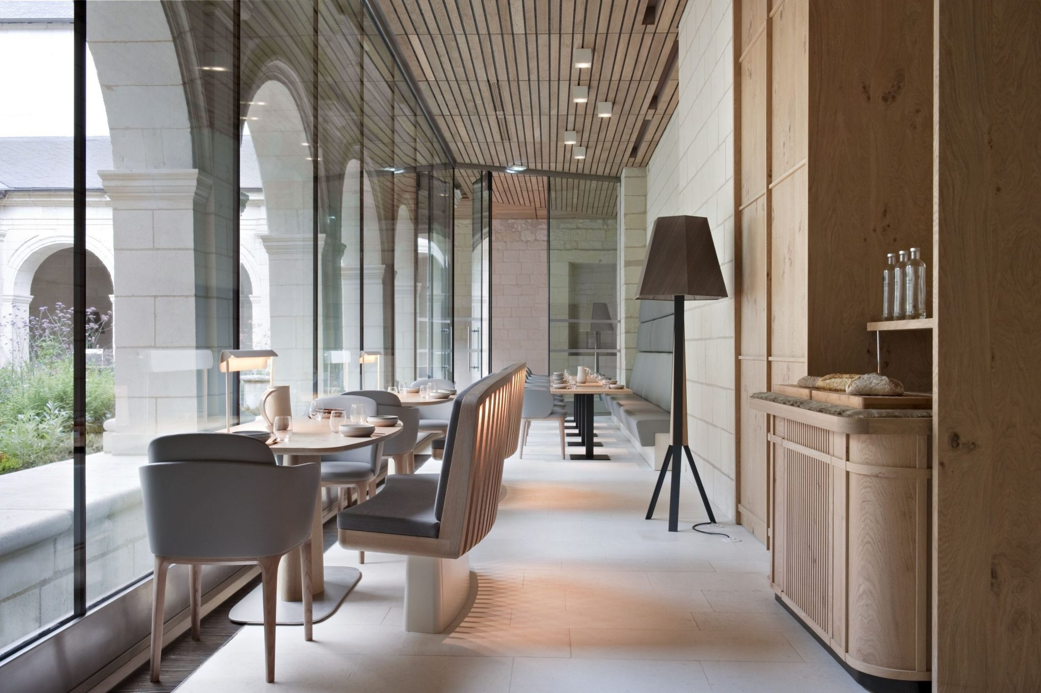 Inspirational Interior Designers Patrick Jouin_Abbaye de Fontevraud - The Restaurant & iBar