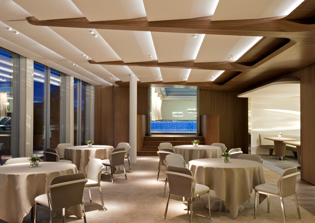 Inspirational Interior Designers Patrick Jouin_Dachgarten - Bayerischer Hof hotel