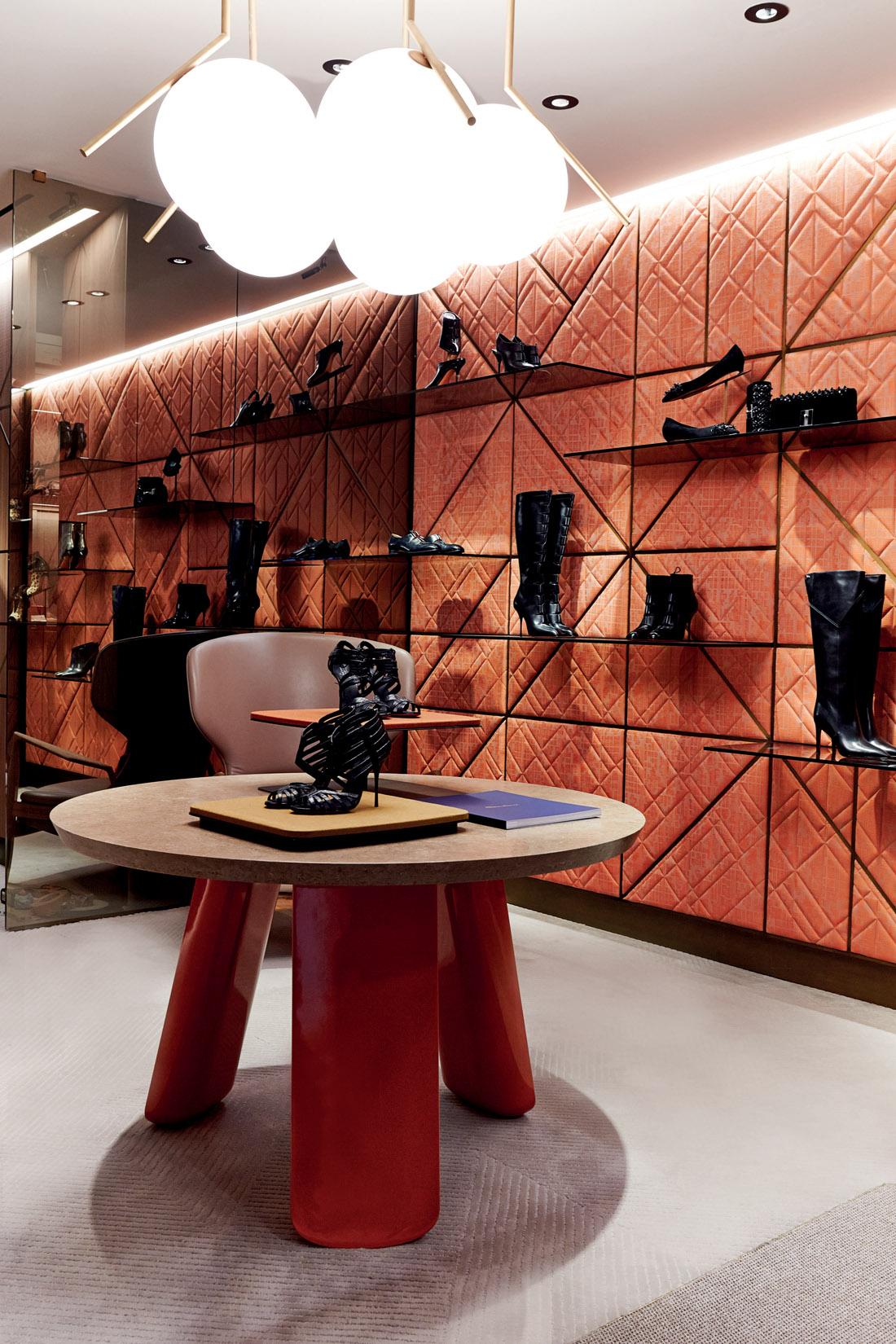 Best retails stores projects by Patricia Urquiola_Santoni