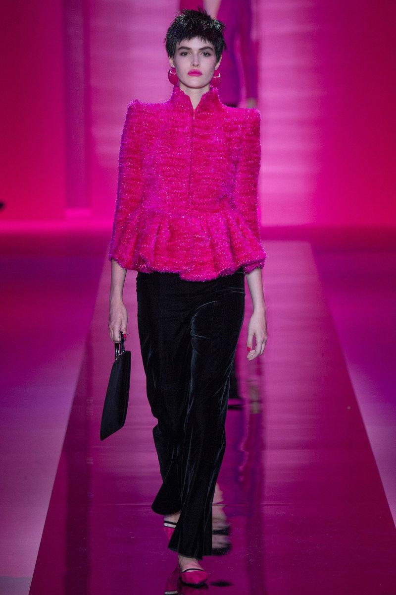 Covetedition-Armani's Haute Couture in Paris-Model Vanessa Moody