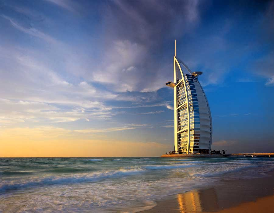 The amazing Burj Al Arab Jumeirah Dubai Hotel