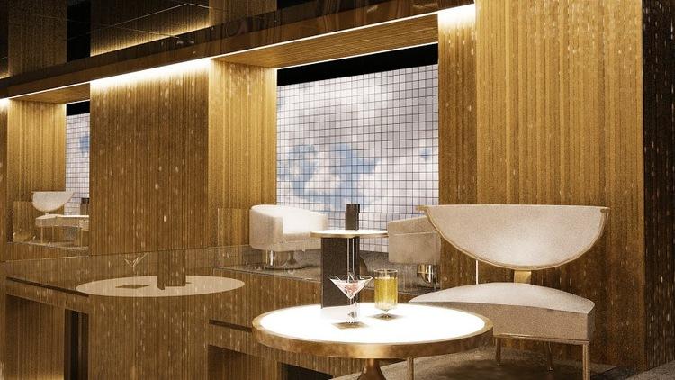 Paramount Hotel Lounge
