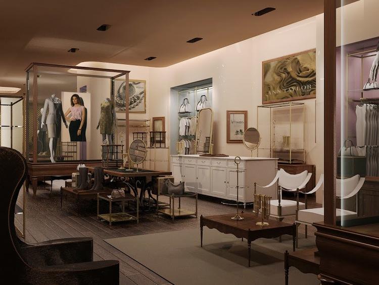 Ann Taylor Modern Classic Center Store