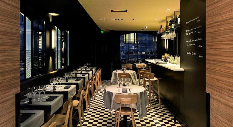 coveted exceptional design at hotel de nell restaurant. Black Bedroom Furniture Sets. Home Design Ideas