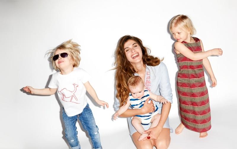 Buy Online with luxury brand Yoox elisa-sednaoui-kids-clothing-yoox3