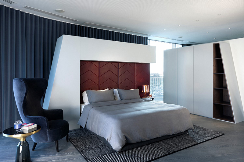 Astonishing Apartment by Tom Dixon Studio Third Floor Bedroom