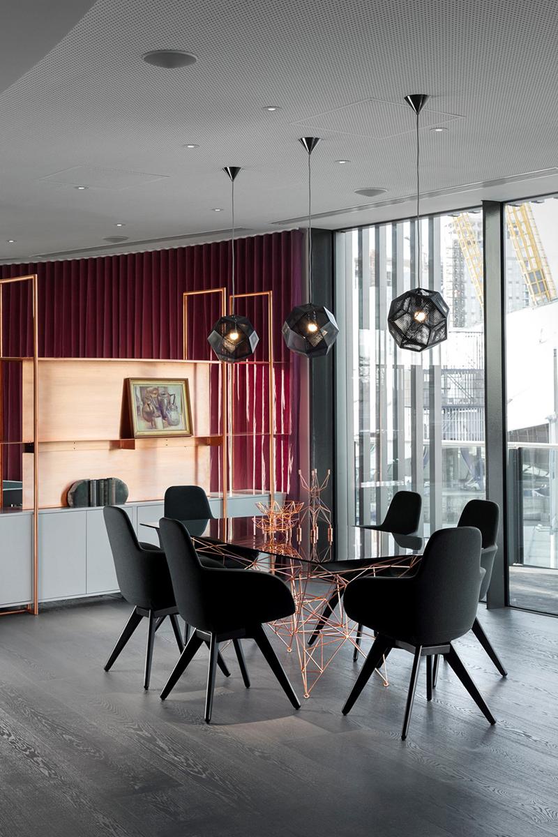Astonishing Apartment by Tom Dixon Studio Third Floor Dining Room