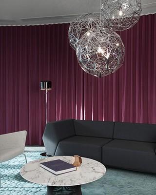 Astonishing Apartment by Tom Dixon Studio Third Floor Living Room