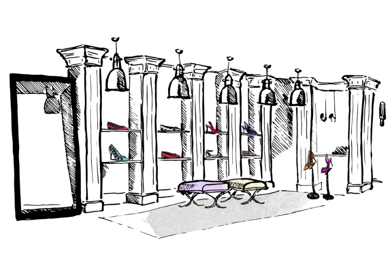 Manolo Blahnik store to be opened soon  Manolo Blahnik store to be opened soon coveted Manolo Blahnik store to be opened soon INDOOR