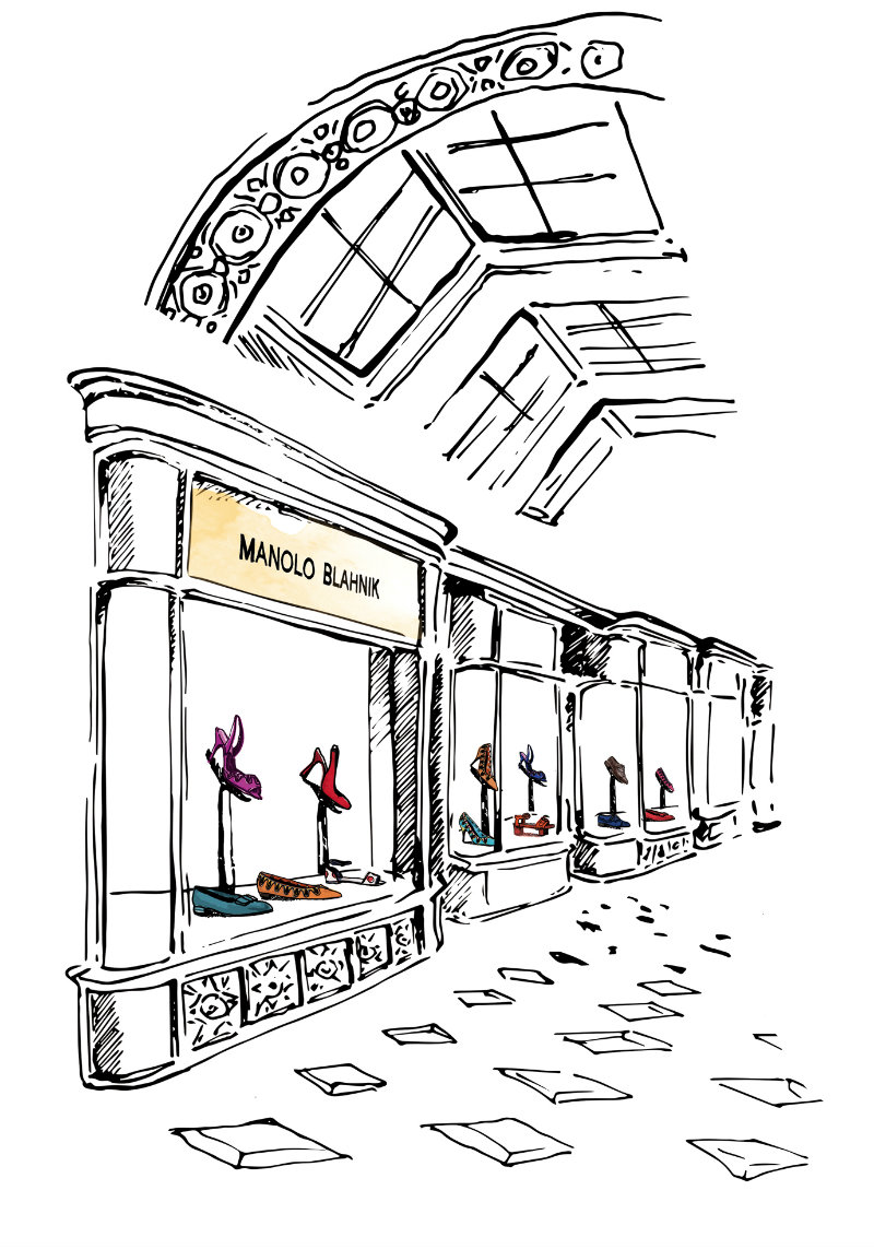 Manolo Blahnik store to be opened soon  Manolo Blahnik store to be opened soon coveted Manolo Blahnik store to be opened soon OUTDOOR