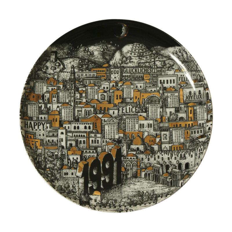 The calendar tradition of Piero Fornasetti