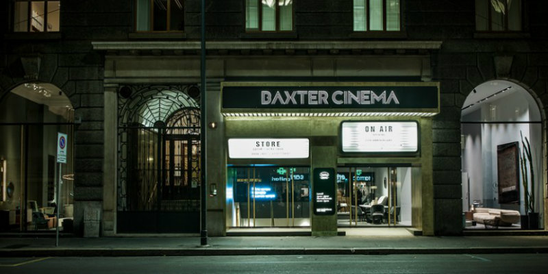 The grand opening of Baxter Cinema in Italy