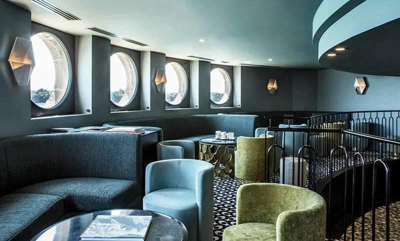 CovetED Magazine Hotels We Covet - Castelbrac pinterest