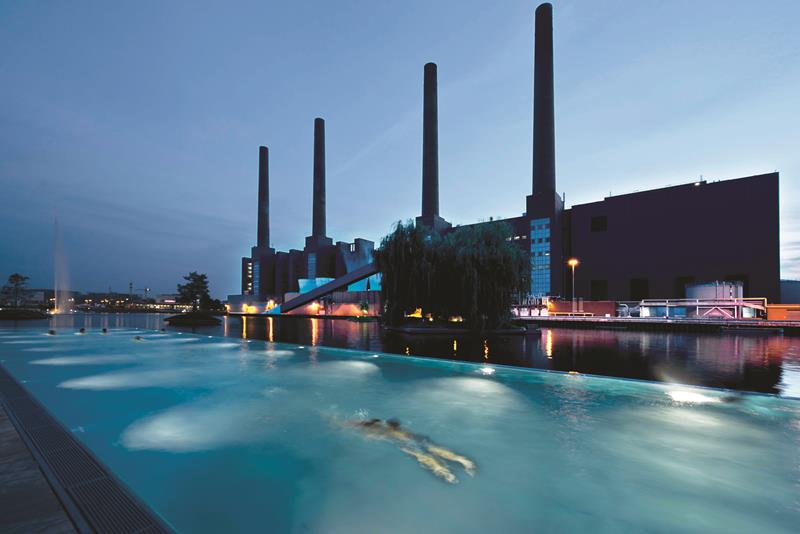 Ritz Carlton Wolfsburg by Elliot Barnes Interiors exterior