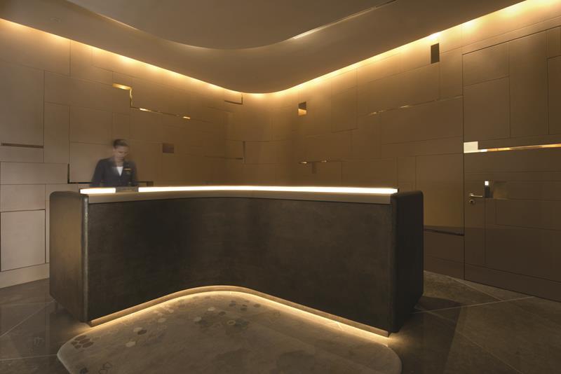 Ritz Carlton Wolfsburg by Elliot Barnes Interiors lobby design