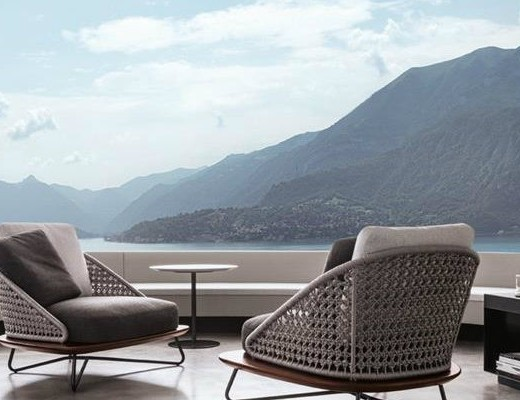 Italian outdoor furniture brands Wicker Furniture Italian Brands At Imm Cologne 2016 Rivera Armchairs By Minotti Italia Fandengiclub Page 211 Covet Edition