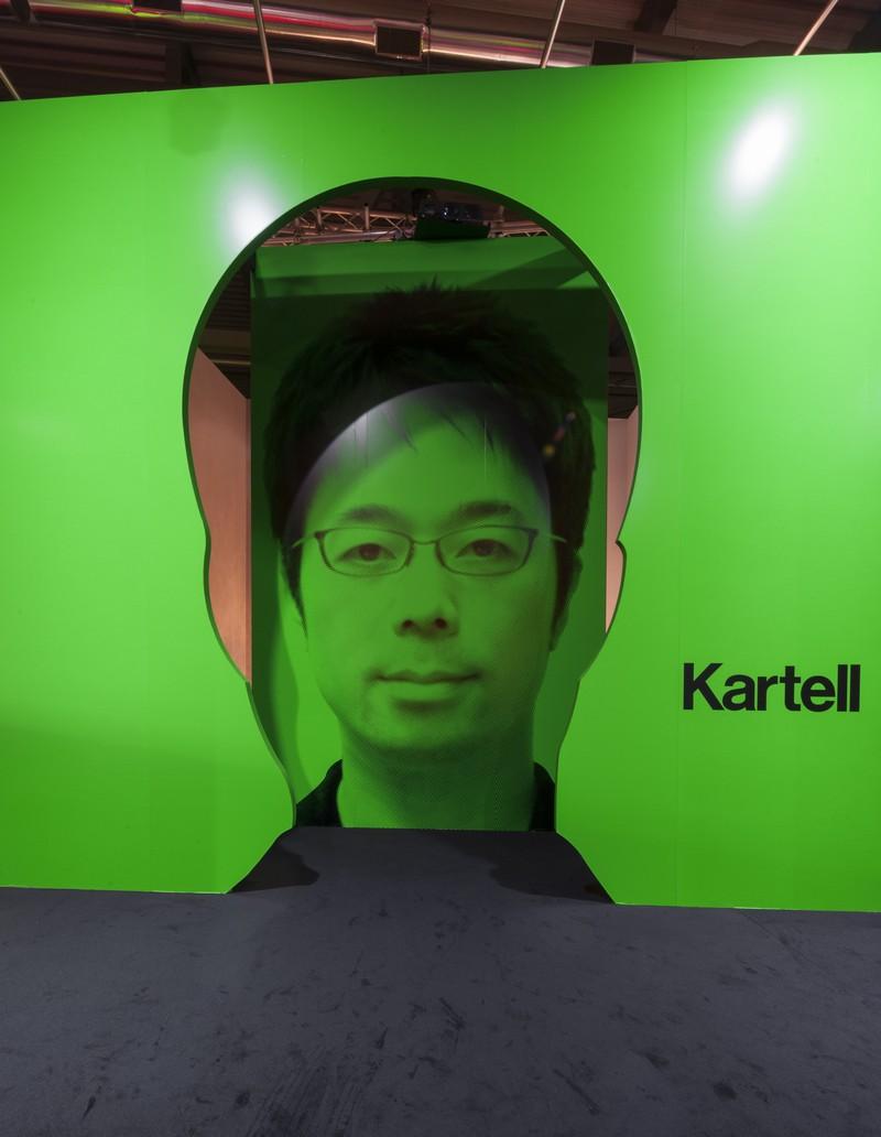 Kartell talking minds at salone del mobile 2016 6 800x520 for Kartell salone del mobile 2016
