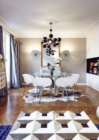 Contemporary interiors: L'Appartement by Rue Monsieur Paris