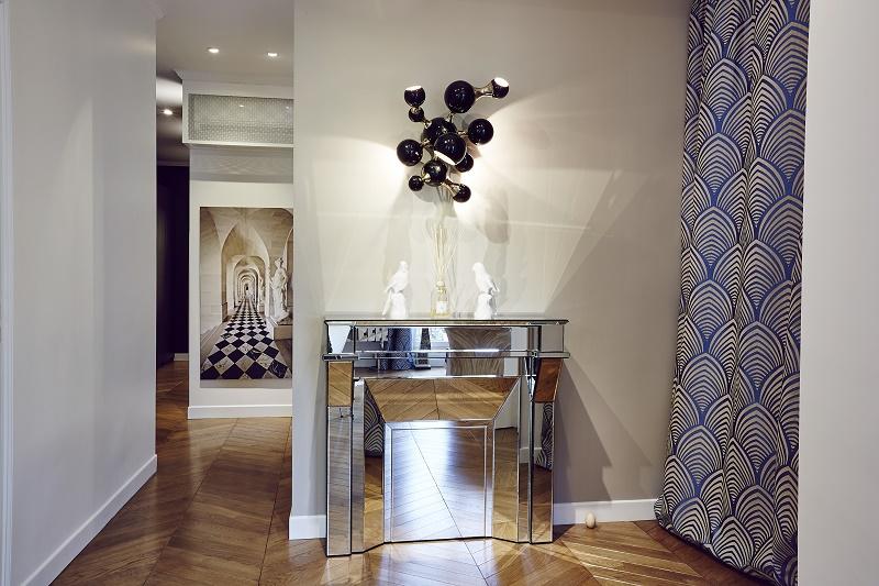 contemporary interiors l appartement by rue monsieur paris covet edition. Black Bedroom Furniture Sets. Home Design Ideas