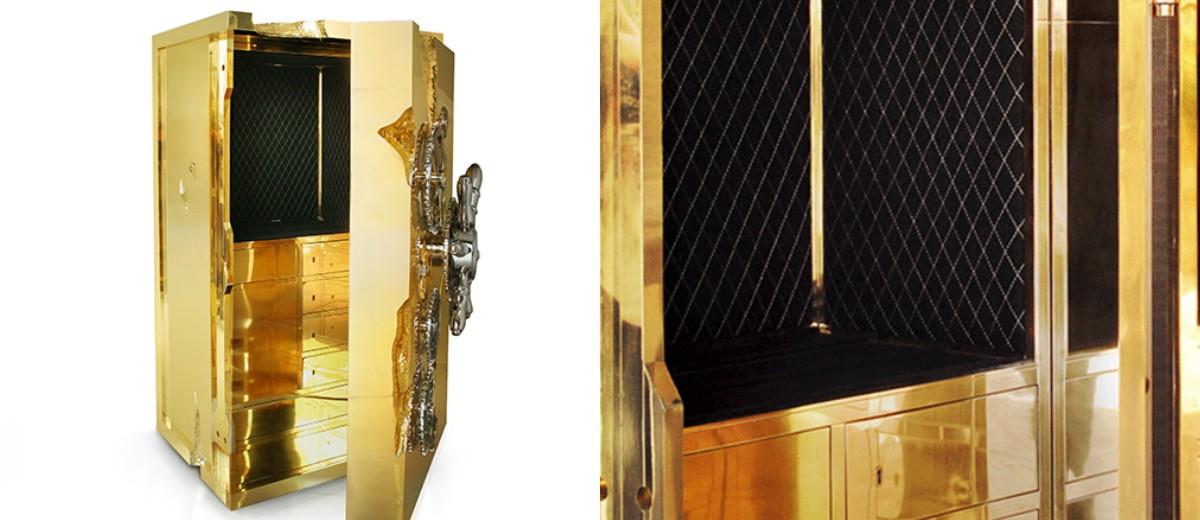 millionaire safe box-1 millionaire safe box Millionaire Safe Box: The Unique Gilded Cabinet from Boca Do Lobo Millionaire safe box