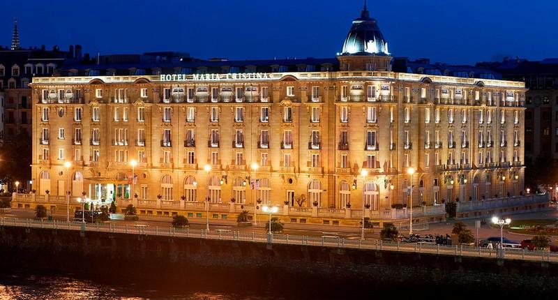 hotel maria cristina san sebastian-1 hotel maria cristina san sebastian The Glory of Hotel Maria Cristina San Sebastian Captivates hotel mar  a cristina 1