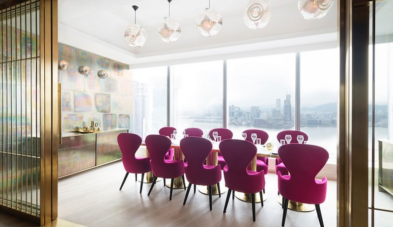 Tom Dixon's Luxurious Alto Restaurant in Hong Kong-2 tom dixon Tom Dixon's Luxurious Alto Restaurant in Hong Kong Azure Tom Dixon Alto 1
