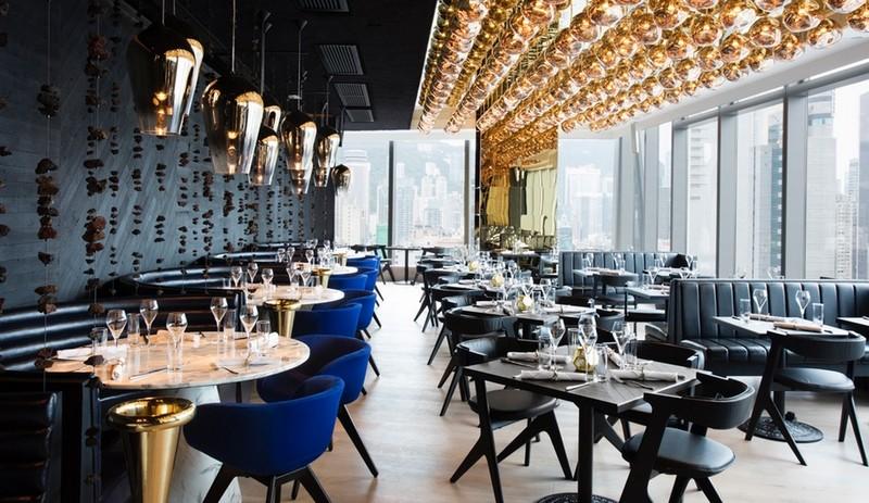 Tom Dixon's Luxurious Alto Restaurant in Hong Kong-1 tom dixon Tom Dixon's Luxurious Alto Restaurant in Hong Kong Azure Tom Dixon Alto 2