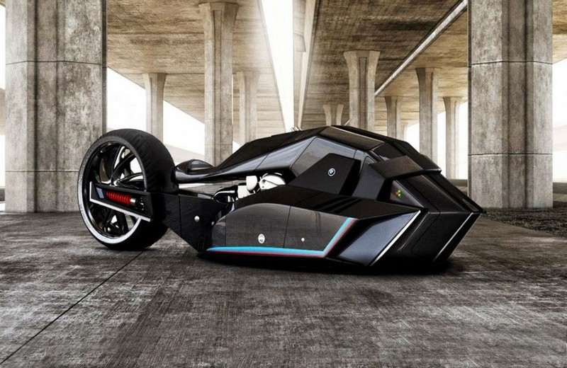 Luxury Automotive Brand BMW's Titan Concept is A New Predator -1