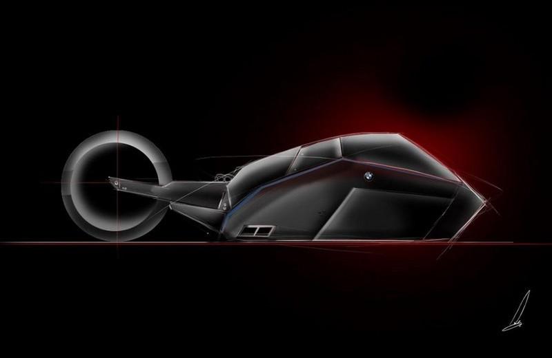 Luxury Automotive Brand BMW's Titan Concept is A New Predator -5