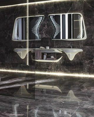 luxury bathroom designs Recalling Zaha Hadid Group's Luxury Bathroom Designs for Porcelanosa featured 320x400