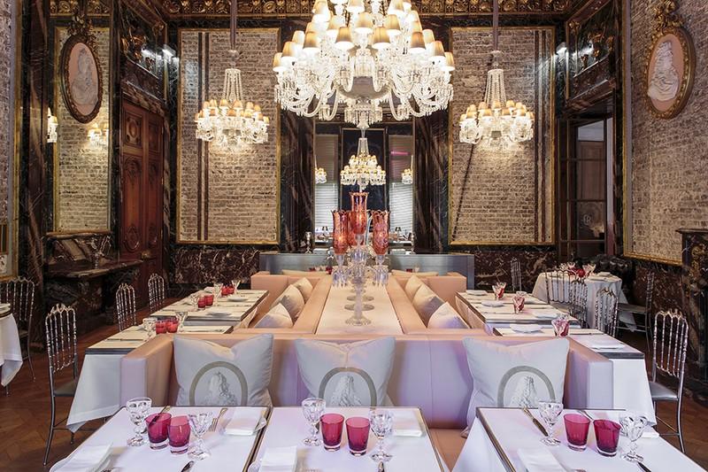 Best Restaurants Paris Cristal Room Baccarat 1 Maison Et Objet