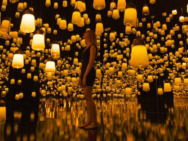 Forest of Resonating Lamps at Maison et Objet Paris 2016