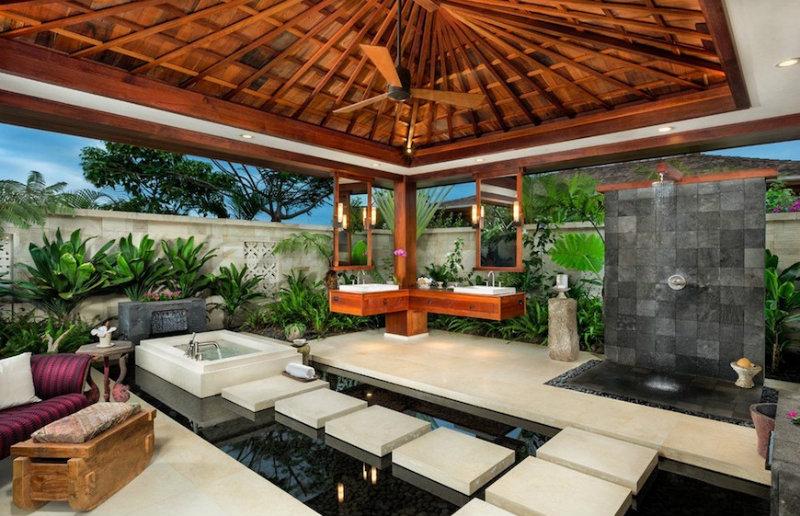 #8 tropical bathroom 10 Astonishing Tropical Bathroom Ideas That You Must See Today 10 Amazing Tropical Bath Ideas 8
