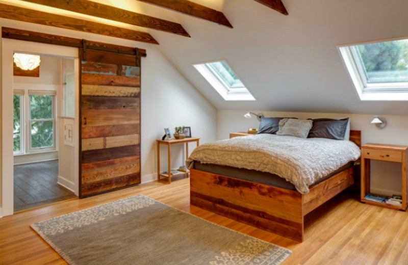 irvington-mast sliding doors 10 Splendid Bedrooms with Wooden Sliding Doors Irvington Mast