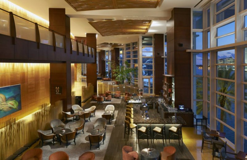 lobby-hotel-manderin-oriental mandarin oriental Mandarin Oriental Hotel - One of the best 5 stars hotels in Miami. lobby hotel manderin oriental