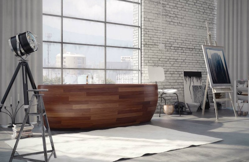 10-relaxing-and-unique-wooden bathtubs-you-will-love-have-6 wooden bathtubs 10 Relaxing and Unique Wooden Bathtubs You Will Love to Have 10 Relaxing and Unique Wooden Bathtubs You Will Love Have 6