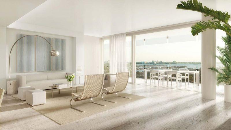 SheltonMind sheltonmindel AD Top 100 Interior Designers 2017: SheltonMindel The Surf Club Four Seasons Private Residences Images 1