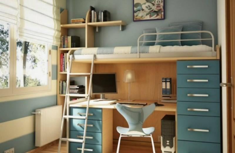 loft bed ideas desk-designs