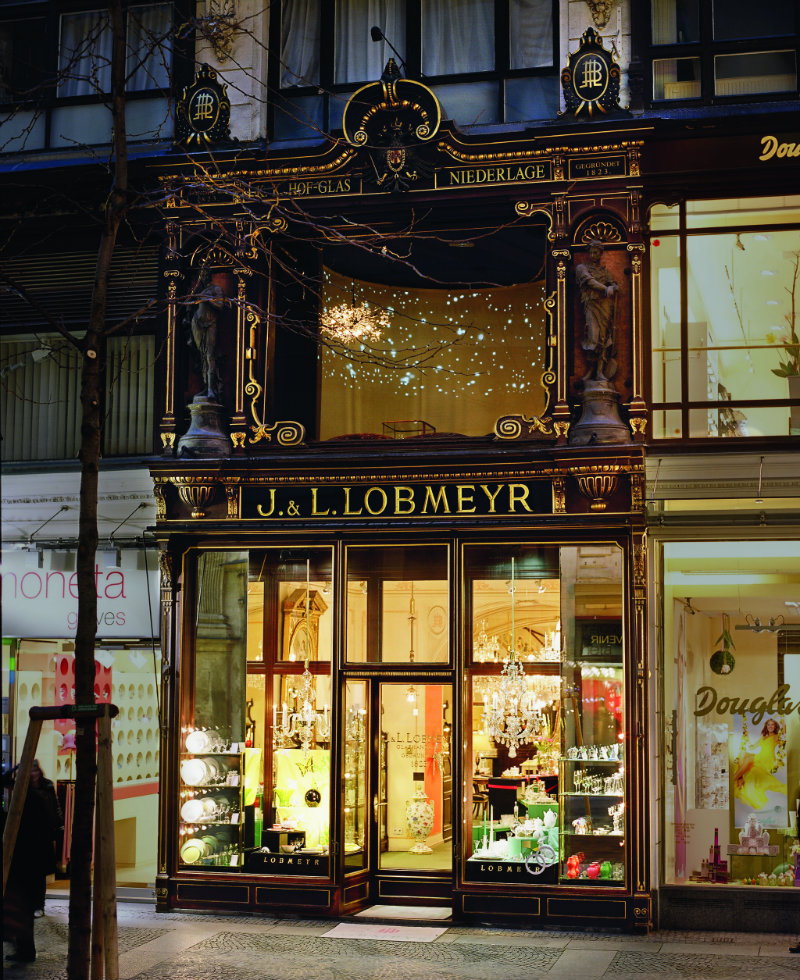 lobmeyr-main-store-vienna maison et objet 2017 Maison et Objet 2017 – Awe-Inspiring Crystal Designs by Lobmeyr LOBMEYR main store Vienna