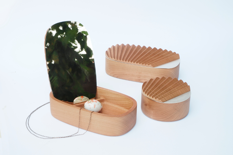 MAISON ET OBJET 2017 MAISON ET OBJET 2017 MAISON ET OBJET 2017 - PORTEGO'S EXCLUSIVE DESIGNS SELF wood box open natural01 HD