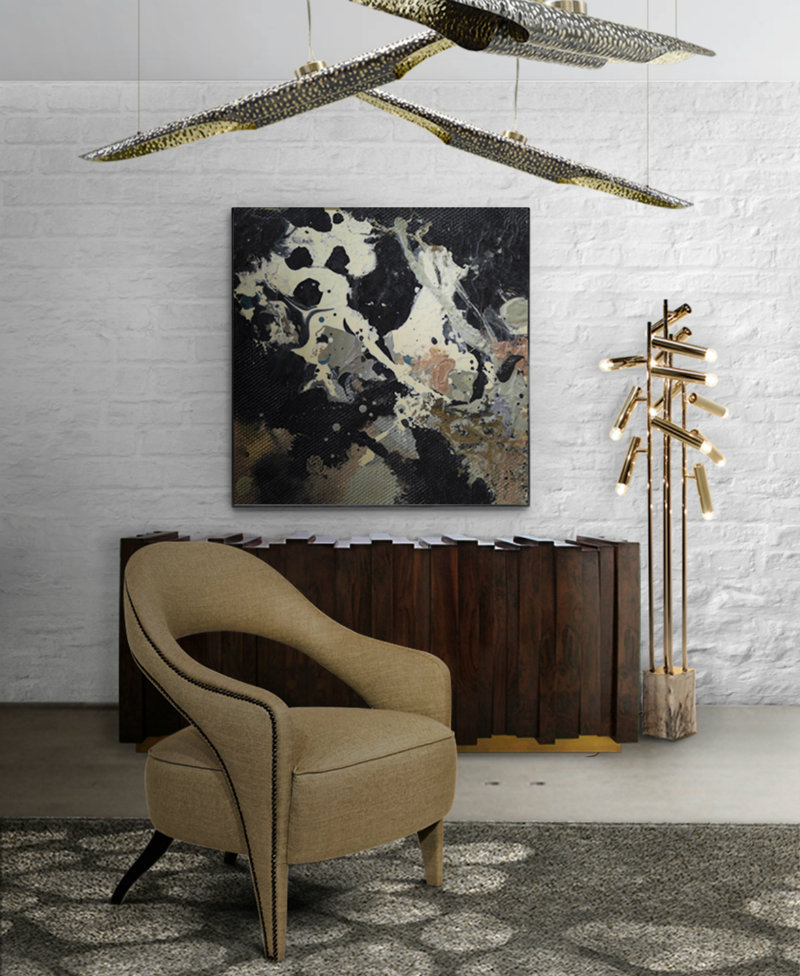 maison et objet 2017 maison et objet 2017 The Most Coveted Luxury Furniture at Maison et Objet 2017 cauca rug modern design by brabbu 6 detail
