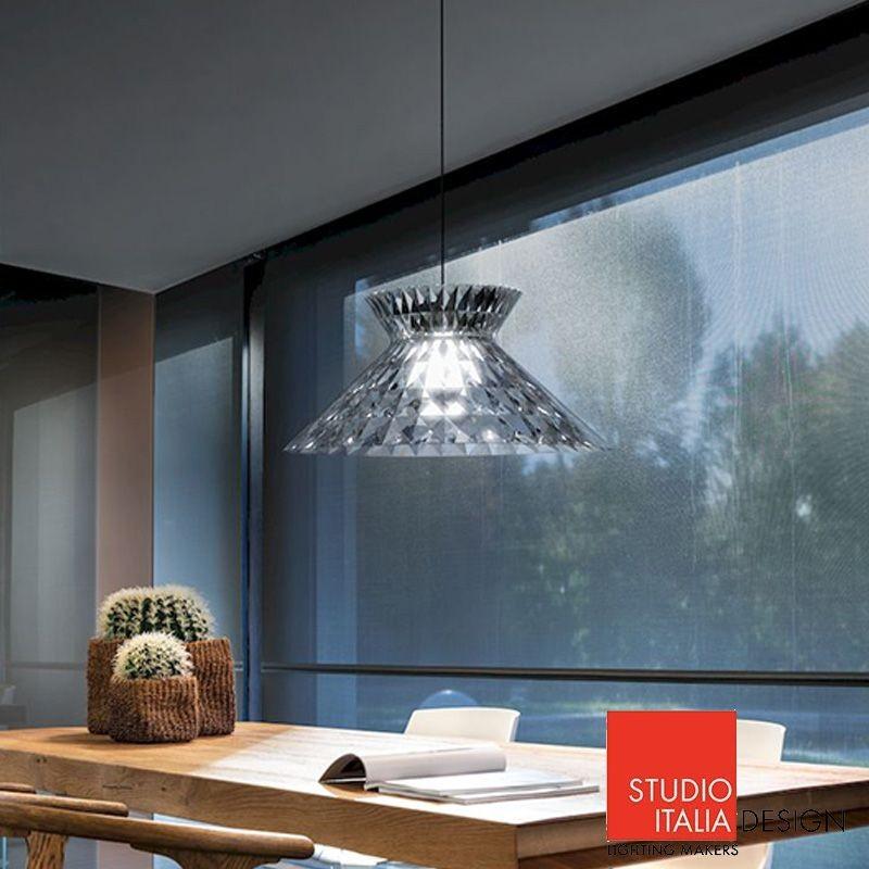 Sugegasa euroluce 2017 Meet The Charming Essence of Studio Italia Design at Euroluce 2017 sugegasa led suspension ceiling lamp crystal studio italia design