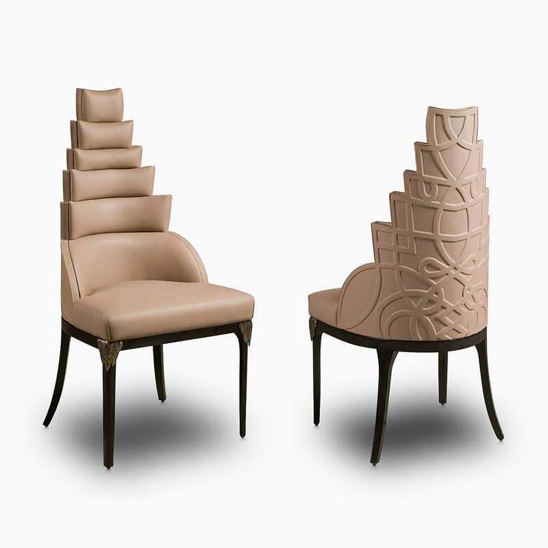 maya-chair iSaloni 2017 iSaloni 2017 - Preview of Clan Milano's Unparalleled Flair maya chair