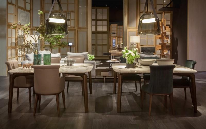 Roberto Lazzeroni poltrona frau milan design week 2