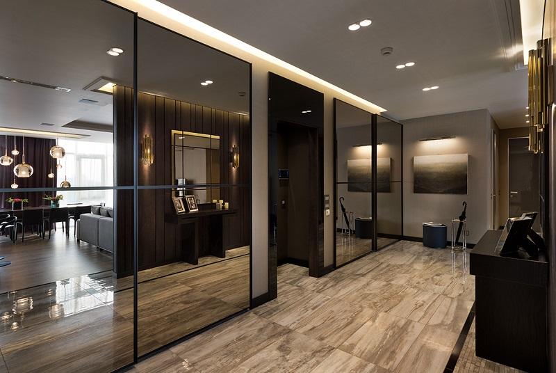 Be Inspired By Fontain Square Apartments By Nataly Bolshakova ➤ To see more news about Luxury Design visit us at http://covetedition.com/ #interiordesign #homedecor #luxurybrand @BathroomsLuxury @bocadolobo @delightfulll @brabbu @essentialhomeeu @circudesign @mvalentinabath @luxxu @covethouse_