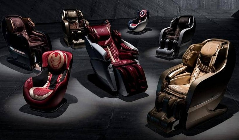 Take a Look at Mesmerising Massage Chairs Inspired by Supercars 1