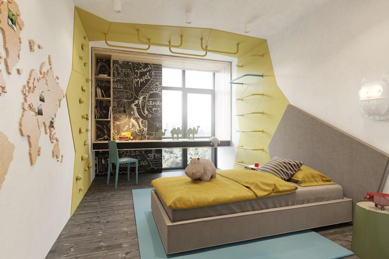 Minimal Mine Project. To see more news about amazing projects, subscribe our newsletter right now! #minimalmineproject #zooistudio #pavelvoitov #maximdoshchinsky #bestinteriordesigners #bedroomdecorideas #kidsdecorideas #livingroomideas