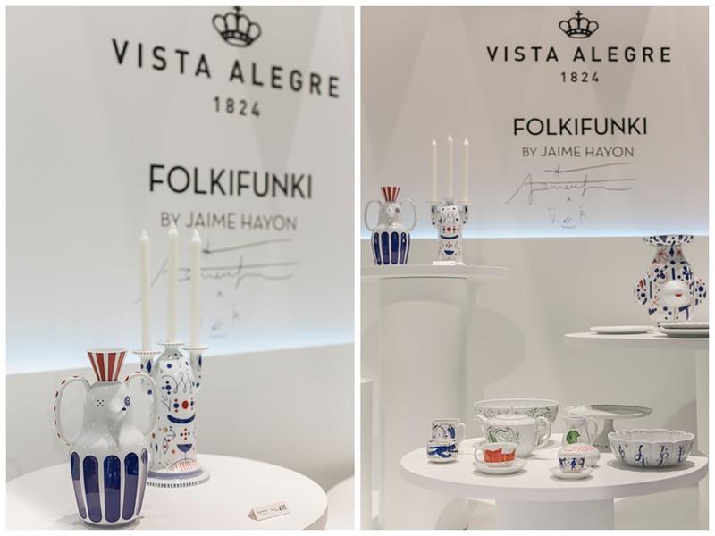 Vista Alegre's Porcelain and Glass Collections at Maison et Objet 2018 8