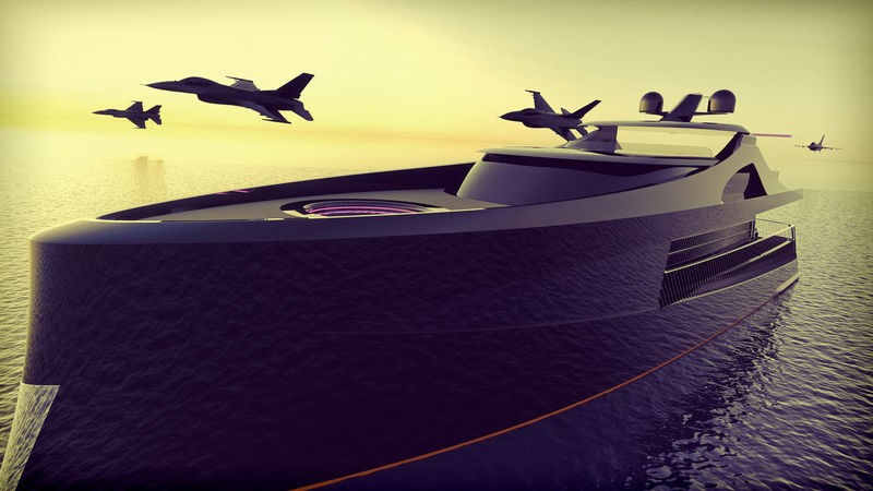 Contemplate the Latest Superyacht Concept Arnela by Edvin Hadzidedic 1