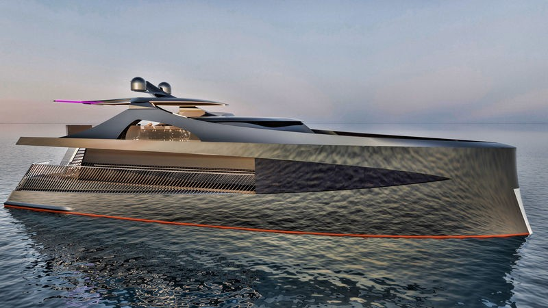 Contemplate the Latest Superyacht Concept Arnela by Edvin Hadzidedic 3